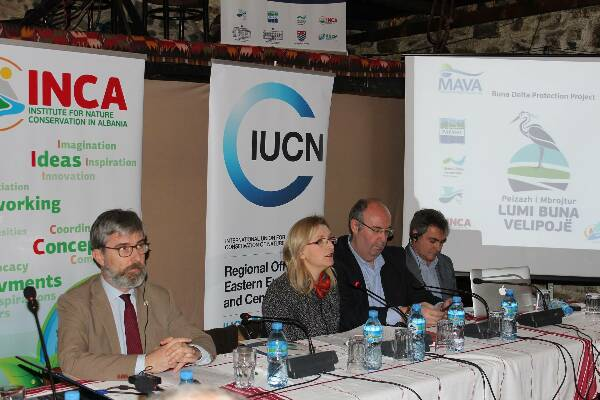 Buna river project launch gathers wide support in Albania